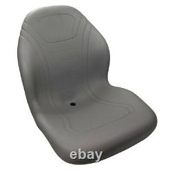New Stens 420-100 High Back Seat Height 21, Width 19 for Mower and Skid Steer