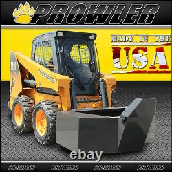 Prowler 1/2 Yard Cement and Concrete Bucket with Spout for Skid Steer Loaders