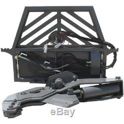 Prowler Hydraulic Rotating Tree Shear Skid Steer Attachment 12 Inch Cut