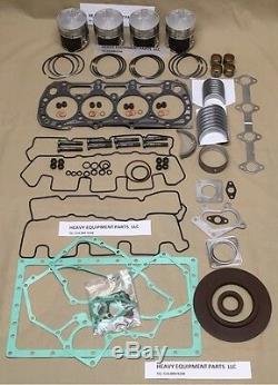Shibaura N844T Turbo 1.995 Engine Overhaul kit New Holland L170 LS170 skid steer