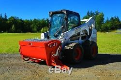 Skid Steer Attachment Cement Mixer for Bobcat Style Loaders
