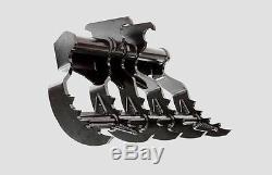Skid Steer Backhoe -Eterra Brand-Backhoe Quick Change Grapple Rake