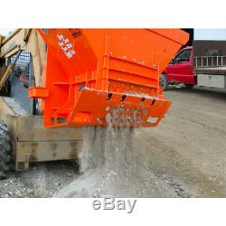 Skid Steer Concrete Crusher Attachment Hog Crusher for Bobcat, Kubota, + more