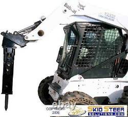 Skid Steer Concrete Rock Breaker Arrowhead R75S Hydraulic Concrete Breaker
