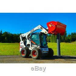 Skid Steer Mix & Go Cement Mixer Attachment BMX-450 by Eterra