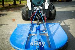 Skid Steer Tractor Attachment Adapter 125cc Motor Category 1 Eterra Brand