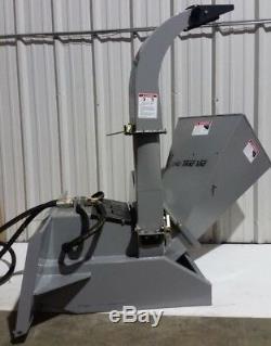 Trac Vac T5300 Skid Steer Loader Wood Chipper Shredder
