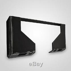 Universal SKid Steer Quick Attach Mounting Plate EXTREME DUTY 1/2 Weld