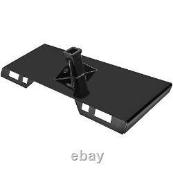 Vevor 1/4Thick Quick Tach Attachment Mount Plate Skid Steer Bobcat USA