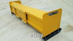10' Xp30 Boîtes Pousseurs De Neige Chargeuse Compacte Bobcat Attache Rapide Livraison Gratuite Rtr
