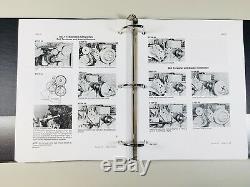 1845c Case Uni Chargeuse Pièces Détachées Service Steer Catalogue De Réparation Livres