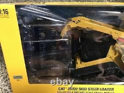 1/16 Diecast Masters Caterpillar Cat 272d2 Chargeur De Dérapage Ertl Diecast 85603