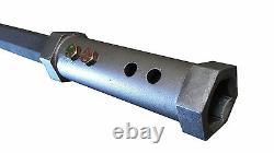 2 Hex Skidsteer Extension De Tarière 48 Long Avec 2 Connexion De Coupleur Hex