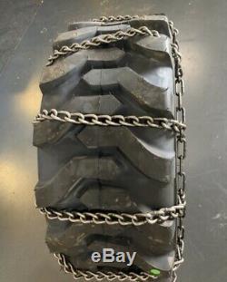 2 Nouveau 12-16.5nhs Avec La Rouille De Surface Snow Ice Mud Chaines Tire Voir Les Photos 6r