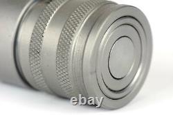 3/4 Npt Femelle Hydraulique Visage Plat Coupleur Quick Steer Bobcat Iso 16028
