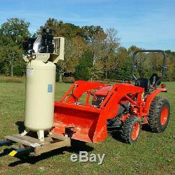 43 1500lb Clamp Sur Le Godet Chargeur Skidsteer Tracteur Palette Fourche Chaîne