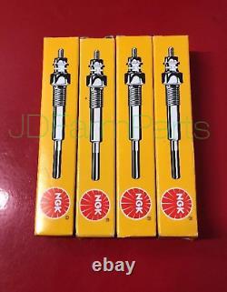 4 Glow Plugs Bobcat Skid Steer 753 763 773 Avec Moteur Kubota V2203 6655233