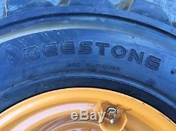 4 Nouveau 12-16.5 Deestone Mini Pneus Et Jantes Pour Case 1845c 12x16.5