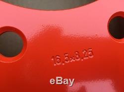 4 Nouveau 16.5x8.25x8 Skid Steer Roue / Jante Pour Bobcat S175, S185, S205