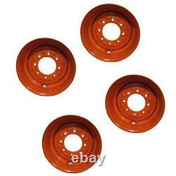4 Nouveau 16.5x8.25x8 Skid Steer Wheel/rim For Fits Bobcat S175, S185, S205