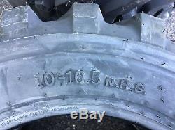 4 Nouveau Camso Sks332 10-16.5 Chargeuses Compactes Bobcat Pneus Pour, Cat, John Deere 10 Pli