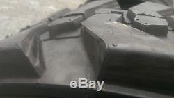 4 Nouvelles 10-16.5 Skid Steer Pneus Avec Rimguard -10x16.5 10 Pli-pour Bobcat Et D'autres