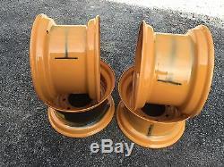 4 Steer 16.5x9.75x8 Skid Roue / Jante Pour Le Remplacement De Cas For12-16.5-1845c D136530