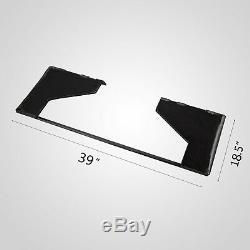 5/16 Fixation Rapide Tach Support De Plaque Bobcat Mini Chargeur