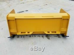 5' Xp24 Boîte Pousse-neige Livraison Gratuite Rtr Skid Steer Bobcat Case Caterpillar