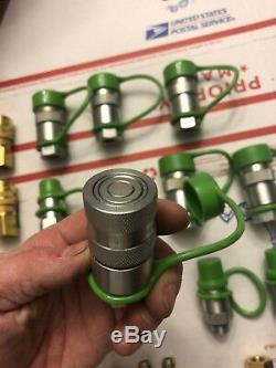66 Qté! 1/4 Mini Chargeuse Bobcat Hydraulique Quick Connect Coupler Mixtes Lot Nouveau
