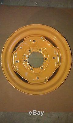 6 Patte Skid Steer Roue / Jante Pour Pneu Correspond Case 10x16.5-10-16.5 Fits1835,1840,1838