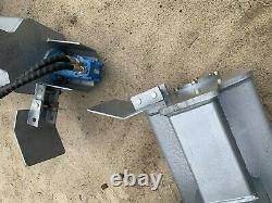 6' Skid Steer Puissance Rake Dents Pour Mini Remplaçables Chargeuse Compacte Ou Complète De Harley