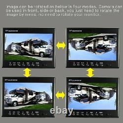 7 Système De Caméra Inversée De Sauvegarde De Vue Arrière Pour Le Pilotage De Dérapage, Rv, Ferme, Camions