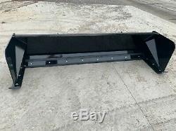 8' Xp24 Boîte Poussoir Neige Noire Bobcat Mini Chargeur Livraison Gratuite