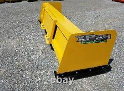 8' Xp24 Pousseur De Neige Bobcat Case Caterpillar Free Shipping-rtr Dérapage