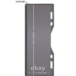Adaptateur De Plaque De Fixation Universelle Vevor Chargeur D'adaptateur Rapide Tach Pièce Jointe 1/4
