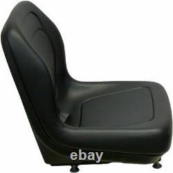 Black Seat S'adapte Ford New Holland Skid Steer Ls120 Ls125 Ls140 Ls150 Ls160