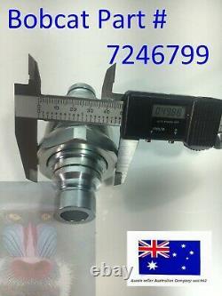 Bloc Hydraulique Quick Coupler Flat Face Ffh 7246783 Valve Auxiliaire Pour Bobcat