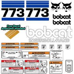 Bobcat 773 V2 Skid Steer Set Vinyl Decal Sticker Bob Chat Made In USA 25 Pc Set
