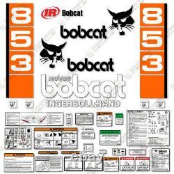 Bobcat 853 Trousse De Décalcomanie Décalcomanies De Steer 7 Ans Vinyl