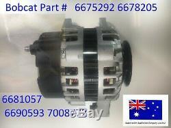 Bobcat Alternateur 6675292 6678205 6681857 6690593 7008772 Kubota Deutz Lester
