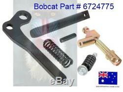 Bobcat Bobtach Rapide Levier Tach Kit Main Droite Poignée Kit Loquet 6724775 Reconstruction
