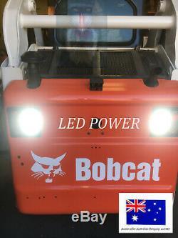 Bobcat Led Phares, Led Feux Arrière Feu Arrière Ensemble 6670284l 6718042 6718043