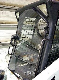 Bobcat Lexan S150 S175 S200 S205 S300 S320 Poly Porte Et Sur Les Côtés Chargeurs Compacts