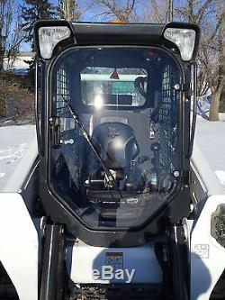 Bobcat M Série S510 À S870. Lexan Forestier Démolition Porte Mini Cabine
