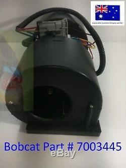 Bobcat Mini Chargeur Souffleur Assemblée 7003445 6689762 Chauffe-aircon Climatiseur