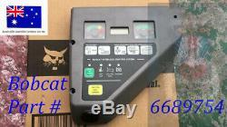 Bobcat Oem 6689754 Panneau De Configuration Gauche Avec Jauge De Carburant Nouveau Dans La Boîte