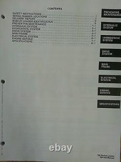 Bobcat Patineur 753 Manuel De Service Livre 6720326 Tôt