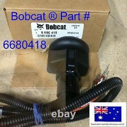 Bobcat Poignée De Commande Droite Trigger & Rocker Interrupteurs 6680418 Oem Véritable