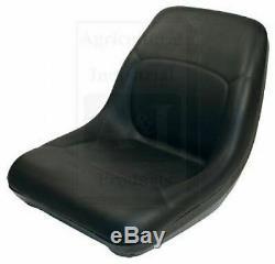 Bobcat Skidsteer En Vinyle Noir Bucket Seat